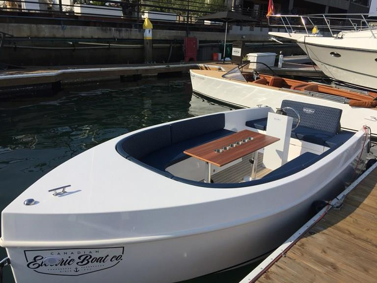 Canadian Electric Boat Company is proud to unveil Volt 180 - photo © Canadian Electric Boat Company