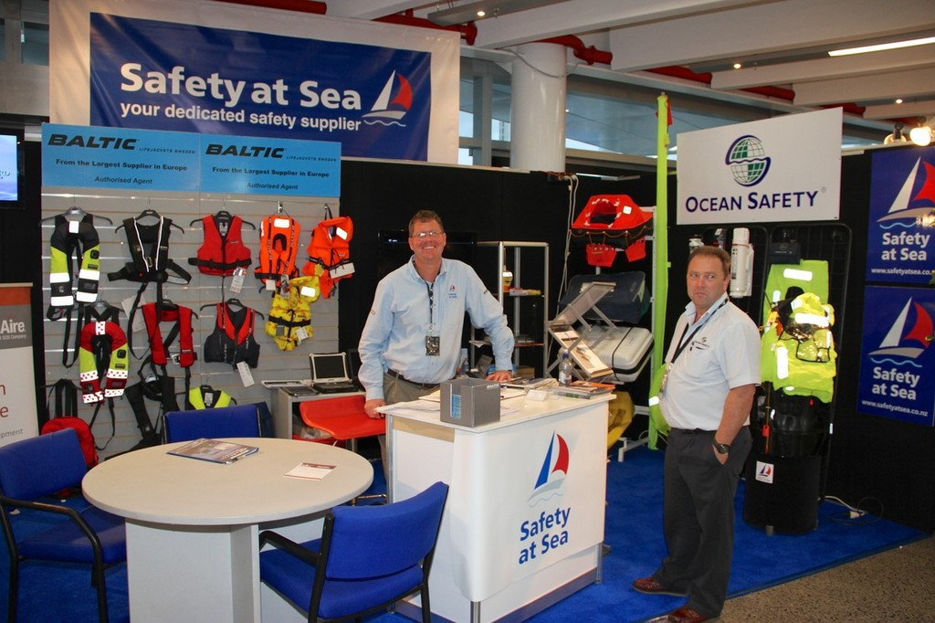 Safety at Sea - 2012 Auckland On the Water Boat Show © Richard Gladwell www.photosport.co.nz