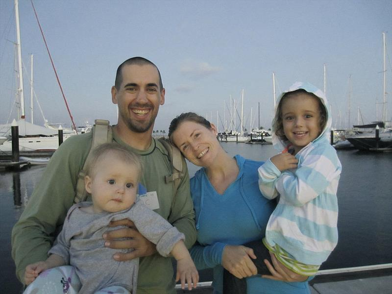 Charlotte Kaufman with her husband Eric and their two children. - photo © Charlotte Kaufman