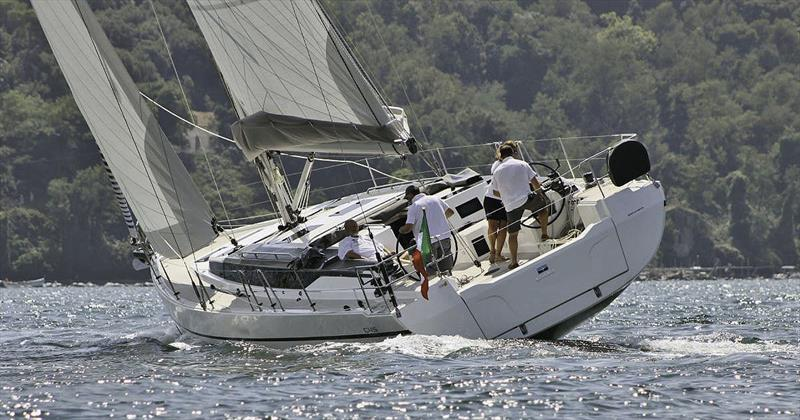 The first Bavaria C45 Ambition undergoing sail testing in Europe. - photo © Bavaria Yachts