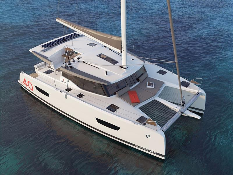 Fountaine Pajot has announced a new entry level sailing catamaran, the Isla 40. photo copyright Kate Elkington taken at  and featuring the Cruising Yacht class