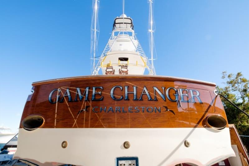 GameChanger's new transom - photo © Bayliss Boatworks