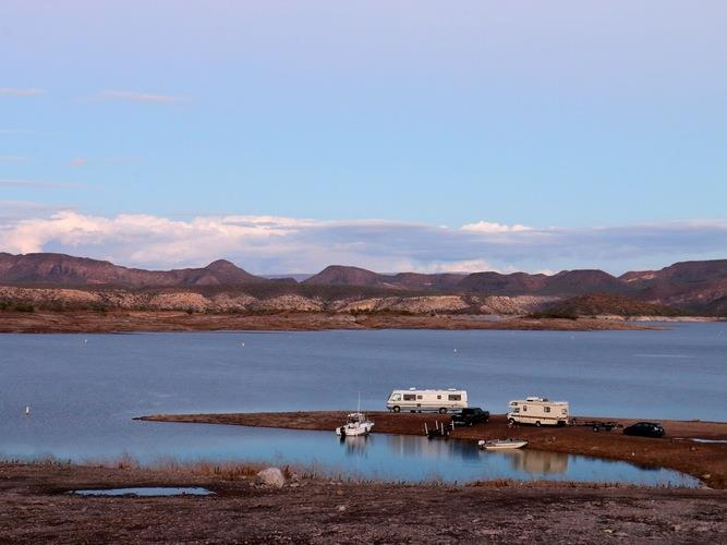 Arizona's most beloved lake photo copyright Robalo Boats taken at  and featuring the Fishing boat class
