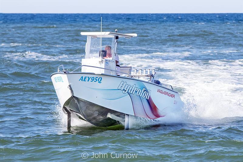 The magnificent and great handling Waverer 550 Centre Console - Well done Pat Jones! - photo © John Curnow