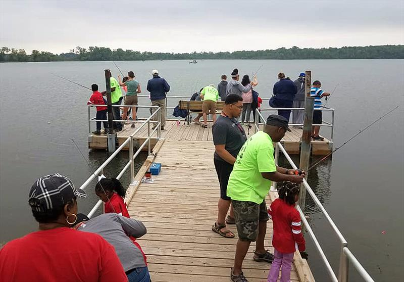 More than 400 young anglers experienced fishing firsthand last weekend during USA Take Kids Fishing Day events in Wisconsin and Tennessee. - photo © Union Sportsmen's Alliance