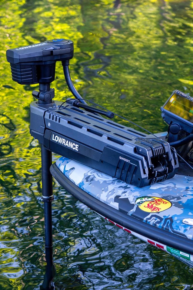 Lowrance Ghost Trolling Motor photo copyright Andrew Golden taken at  and featuring the Fishing boat class