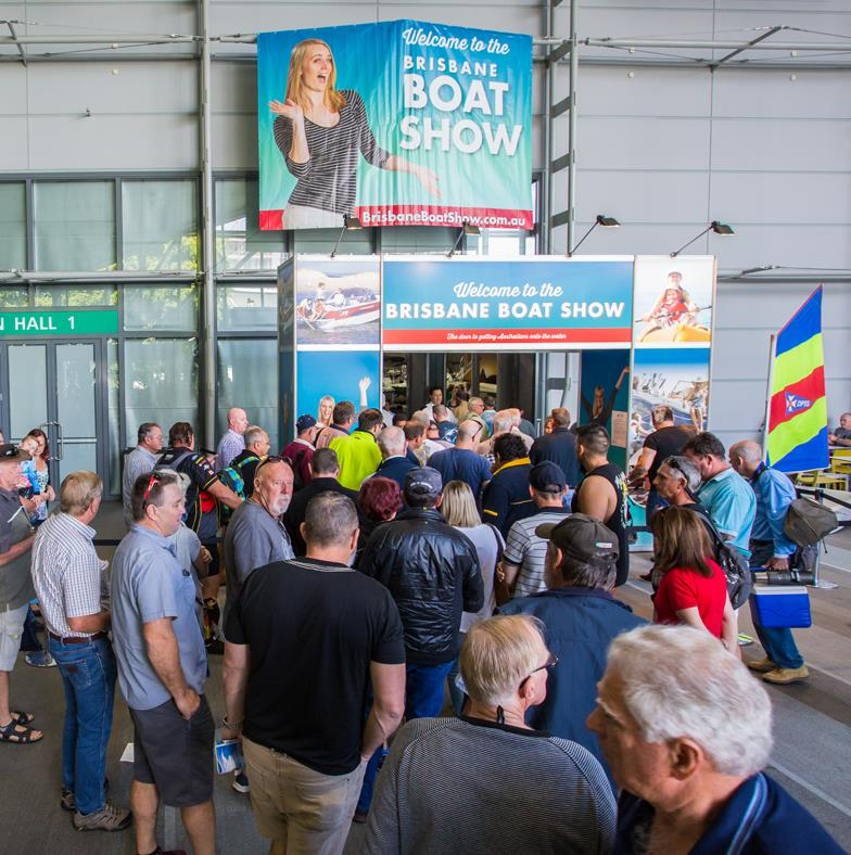 Brisbane Boat Show photo copyright Photographer at Large taken at  and featuring the Fishing boat class
