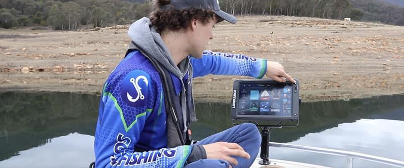 Configure your Lowrance Elite Ti2 with Rhys Creed photo copyright Lowrance  taken at  and featuring the Fishing boat class