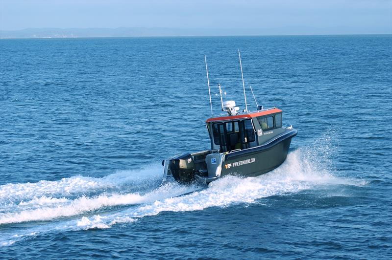 The 750ULR can be configured for multiple applications and is compatible with various equipment, combined with it's increased range it is a truly versatile and nimble commercial workboat - photo © Power Equipment
