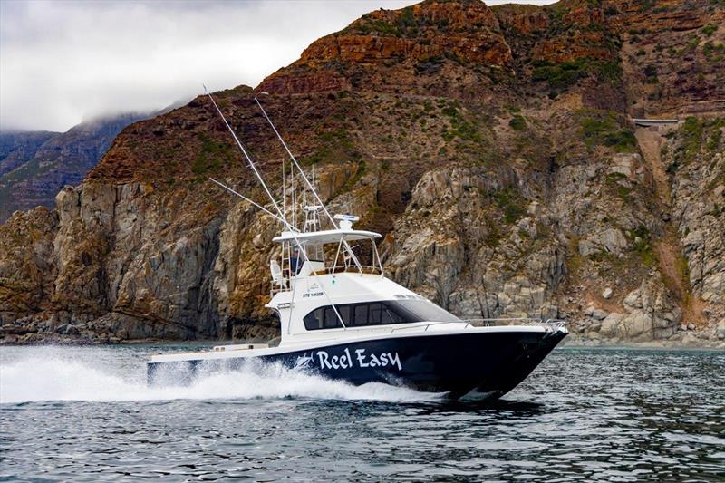 Magnum 46 Power Catamaran Walkaround photo copyright Sean Todd Photography taken at  and featuring the Fishing boat class