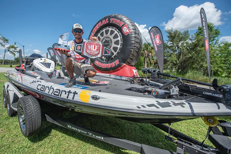 Lowrance Pro Angler Jordan Lee wins MLF event on the Kissimmee Chain - photo © Andrew Golden