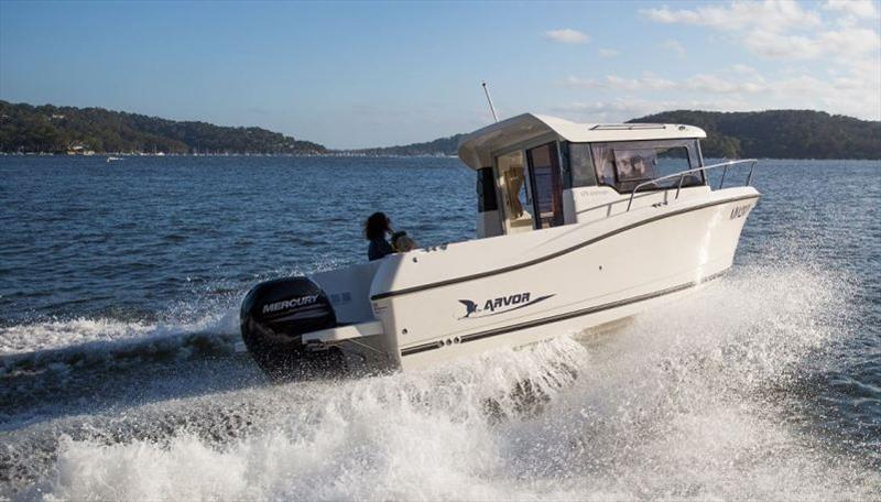 Arvor 675 Sportsfish photo copyright Arvor taken at  and featuring the Fishing boat class