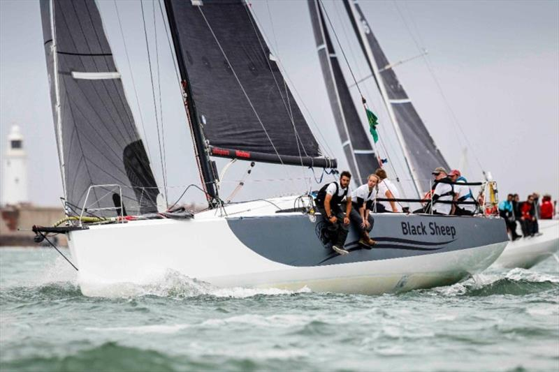 Trevor Middleton's Sun Fast 3600 Black Sheep win 2019 RORC Season's Points Championship overall photo copyright Paul Wyeth / www.pwpictures.com taken at Royal Ocean Racing Club and featuring the IRC class