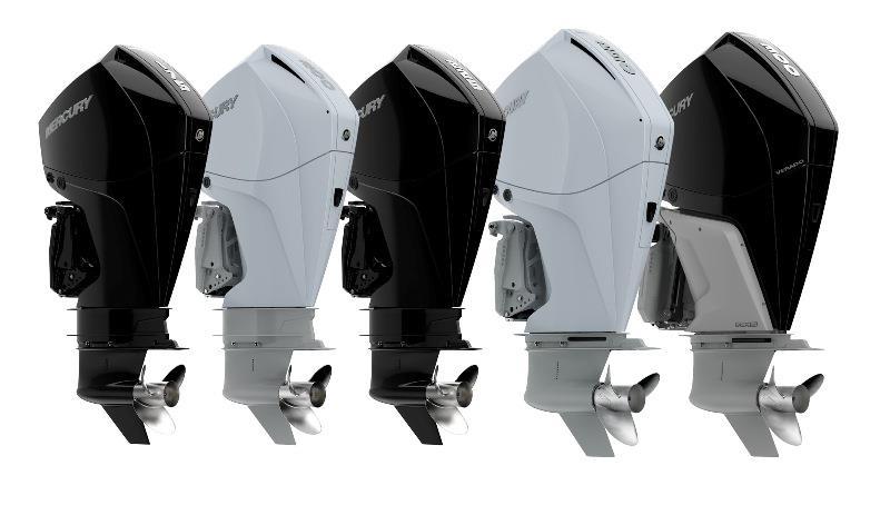 Mercury Marine introduces Verado, FourStroke and Pro XS V-8 and V-6