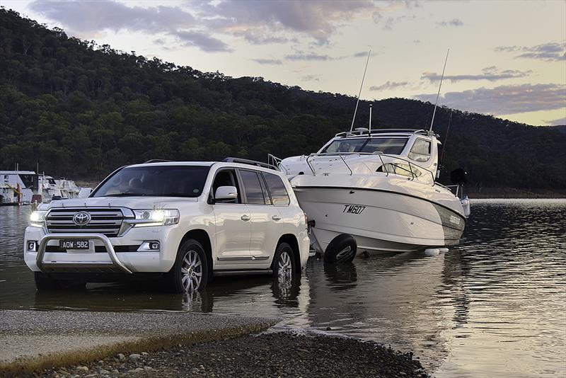 Whittley trailerable cruisers on show at Sydney Boat Show 2018 - photo © Alan Whittley