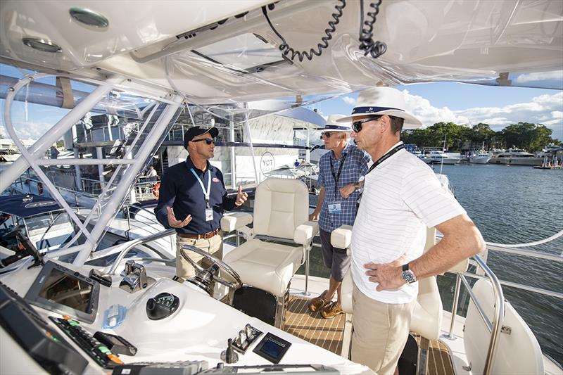 The Riviera Festival of Boating offers a comprehensive range of on-water educational workshops - photo © Riviera Studio