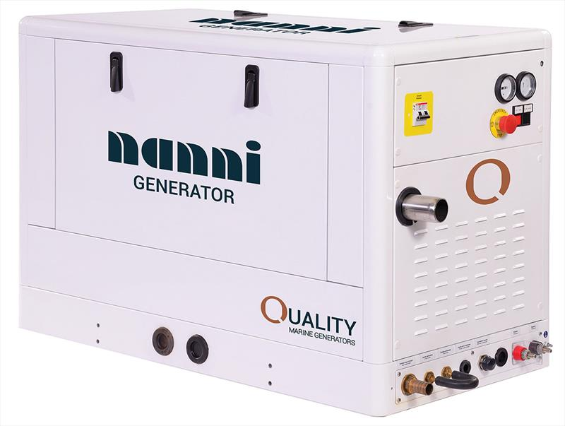 Nanni 240V Marine Diesel Generator range from 5kW to 35kW photo copyright Nanni taken at  and featuring the Marine Industry class
