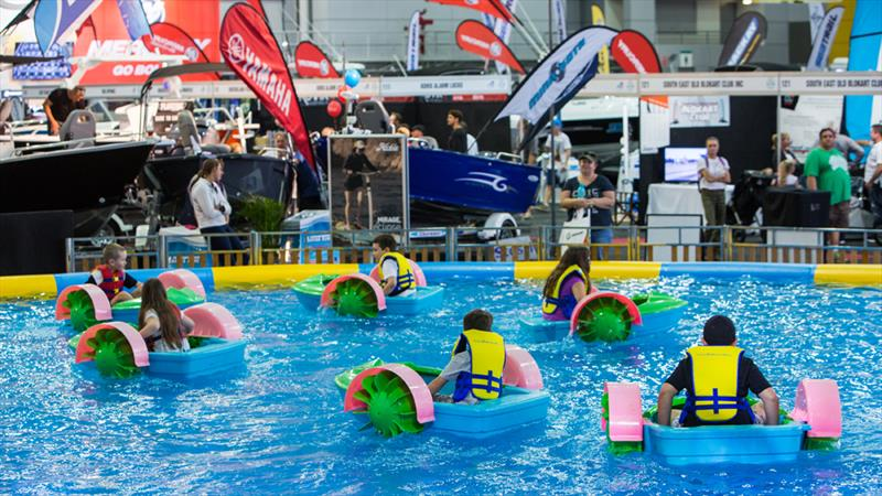 Brisbane Boat Show - Bumper boats photo copyright Photographer at Large taken at  and featuring the Marine Industry class