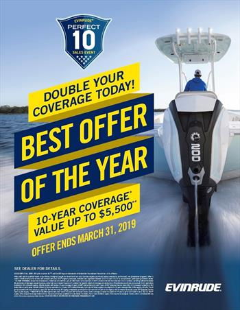 Evinrude E-TEC G2 Engine Data integrated in Lowrance and