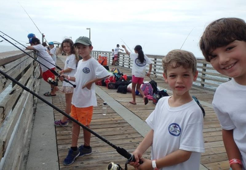 Teaching 100,000 kids to fish in locations around the world to help build the next generation of ethical, conservation-minded anglers - photo © IGFA