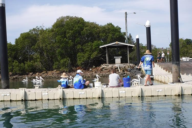 Boat ramps are a great place to take the family for a fish.  The kids can clean their catches there as well. - photo © Boat Accessories Australia