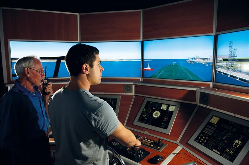Sydney Maritime Simulator - photo © Alice Dalley