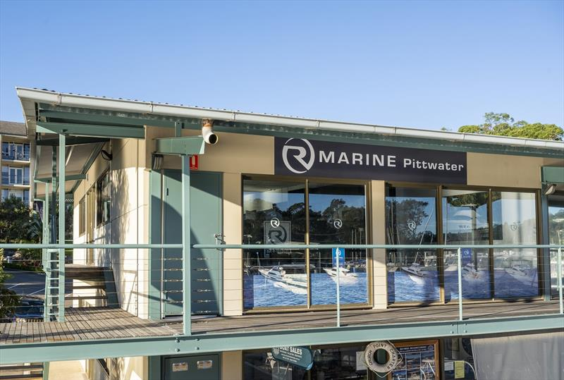 R Marine Pittwater's newly refurbished sales centre - photo © Nuance Photography