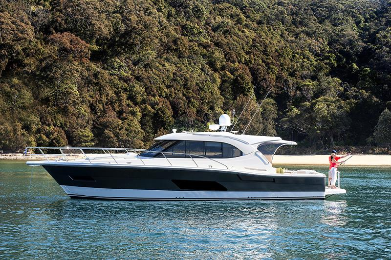 The Riviera 445 SUV offers myriad options, from recreational cruising and entertaining to serious fishing. - photo © Riviera Australia