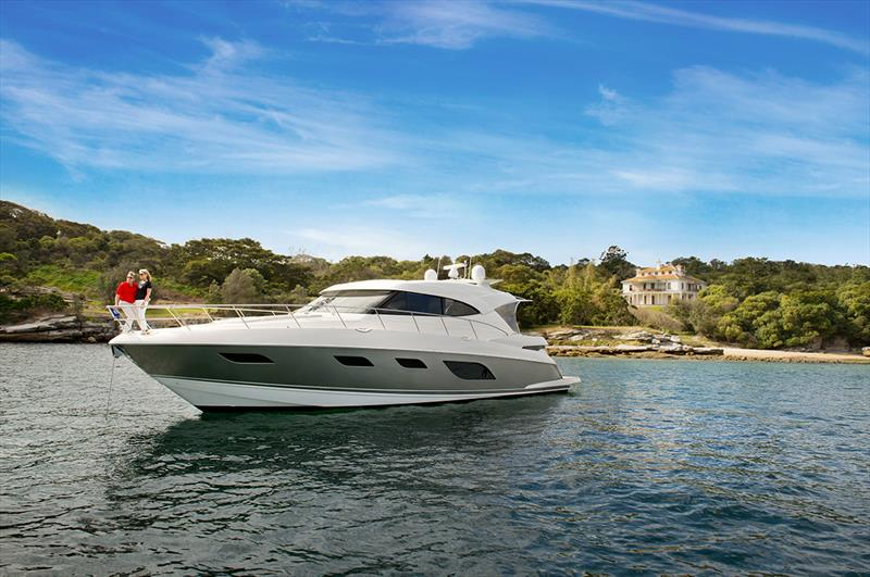 The Riviera 6000 Sport Yacht has been described as a being akin to a six-star luxury resort. - photo © Riviera Australia