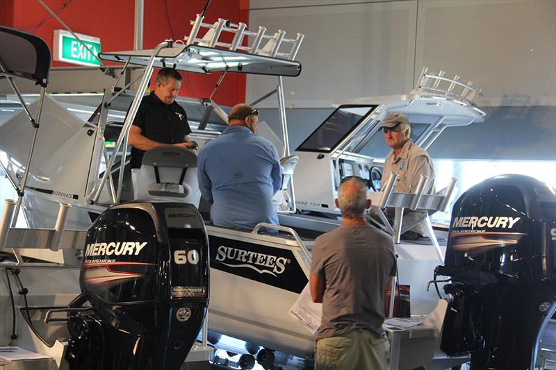 Rosehill Trailer Boat Show - photo © Boating Industry Association