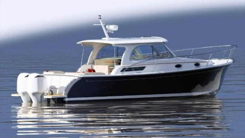 Back Cove 34O - photo © Back Cove Yachts