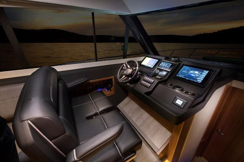 Riviera 395 SUV Helm - photo © Riviera Australia