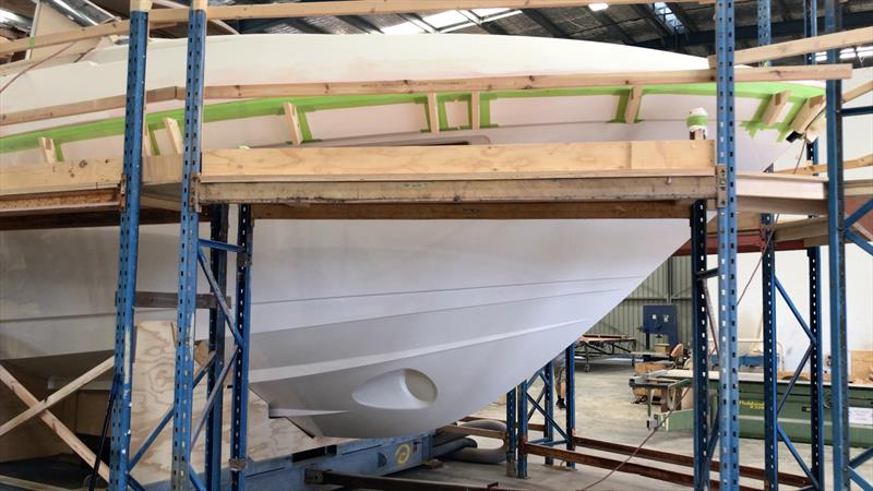 In build with Maritimo's X50 - photo © John Curnow