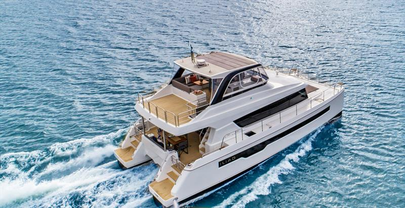 Multihull Solutions had an overwhelming response to the exclusive world launch of the ILIAD 50 at the 2019 Sanctuary Cove International Boat Show. - photo © Kate Elkington