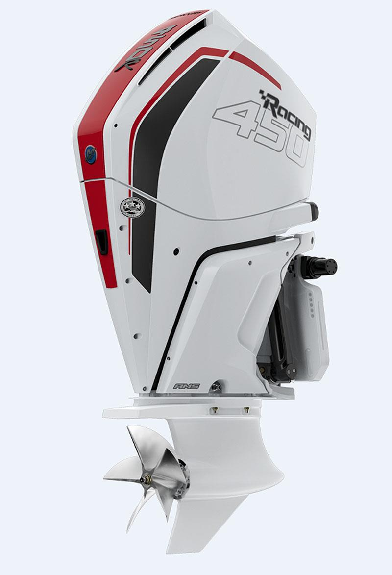 The new Mercury 450R outboard. photo copyright Mercury Marine taken at  and featuring the Power boat class