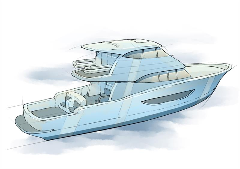 Maritimo One M72 photo copyright Maritimo taken at  and featuring the Power boat class