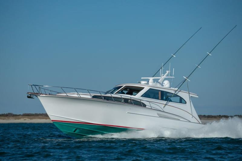 67' Privateer - photo © Jarrett Bay Boatworks