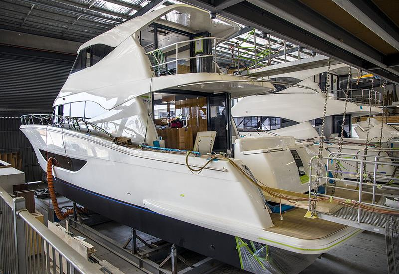 Off to the Miami International Boat Show - Maritimo M64 - photo © John Curnow