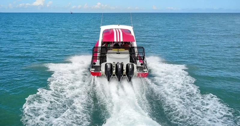 Reef Sprinter 2 running photo copyright Mercury Marine taken at  and featuring the Power boat class