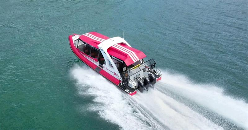 Reef Sprinter 4 running photo copyright Mercury Marine taken at  and featuring the Power boat class