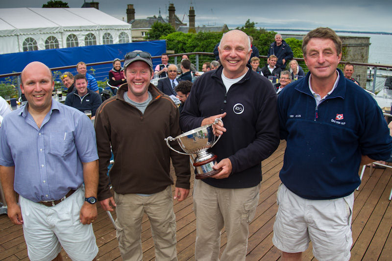 Peter Morton's team on Bullit win the Coutts Quarter Ton Cup - photo © Paul Wyeth / www.pwpictures.com