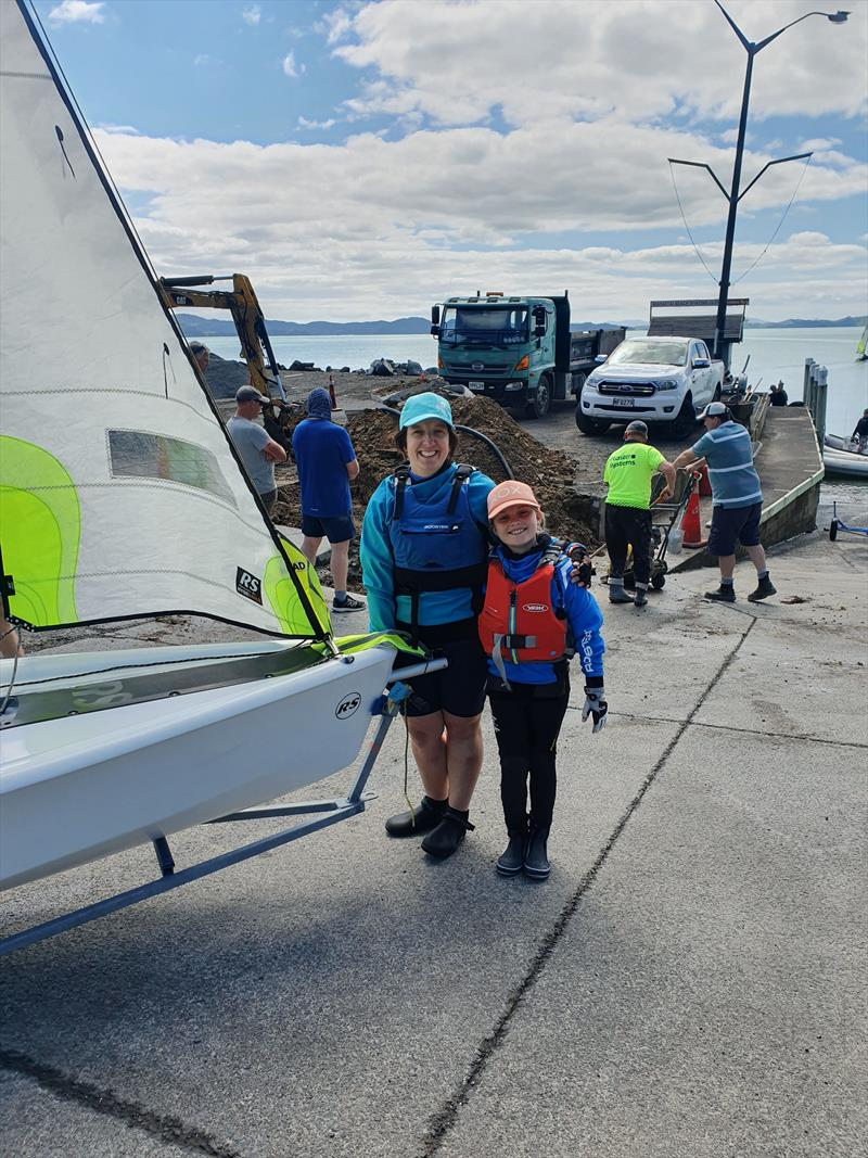 MOther and Daughter team Pip and Juliet White photo copyright NZ Sailcraft taken at  and featuring the RS Feva class