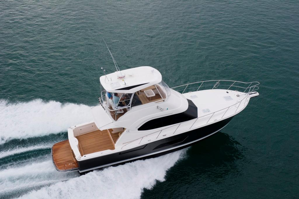 Riviera 43 Open Flybridge will be on display at Cannes - photo © Riviera . http://www.riviera.com.au