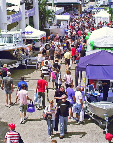 Families and avid fishos love the Brisbane Tinnie and Tackle Show, which combined with 4x4 and Outdoor Show offers three big days of entertainment. © Marine Queensland http://www.marineqld.com.au