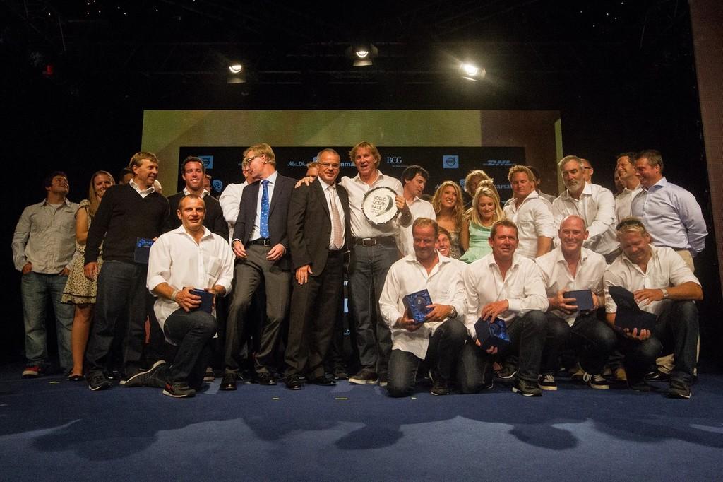 1e0c6393af50 Volvo Ocean Race- Formal Prizegiving - Racing Award winners