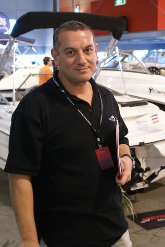 Domenic Genua, Marketing and Events Manager for the Boating Industry Association of NSW © Sarah Ruggiero