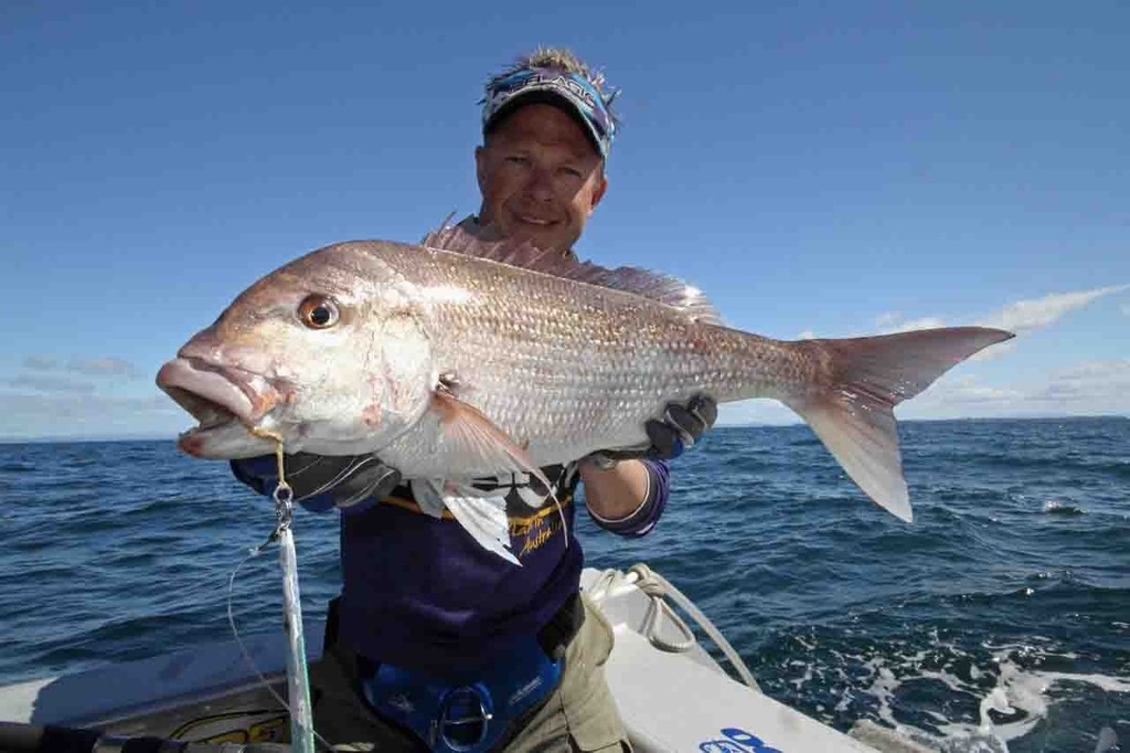 Snapper are also a common catch on jigs when the retrieve is slowed. © Jarrod Day