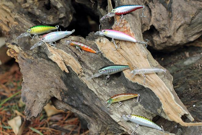 Ensure you have a good lure selection when targeting perch. © Jarrod Day