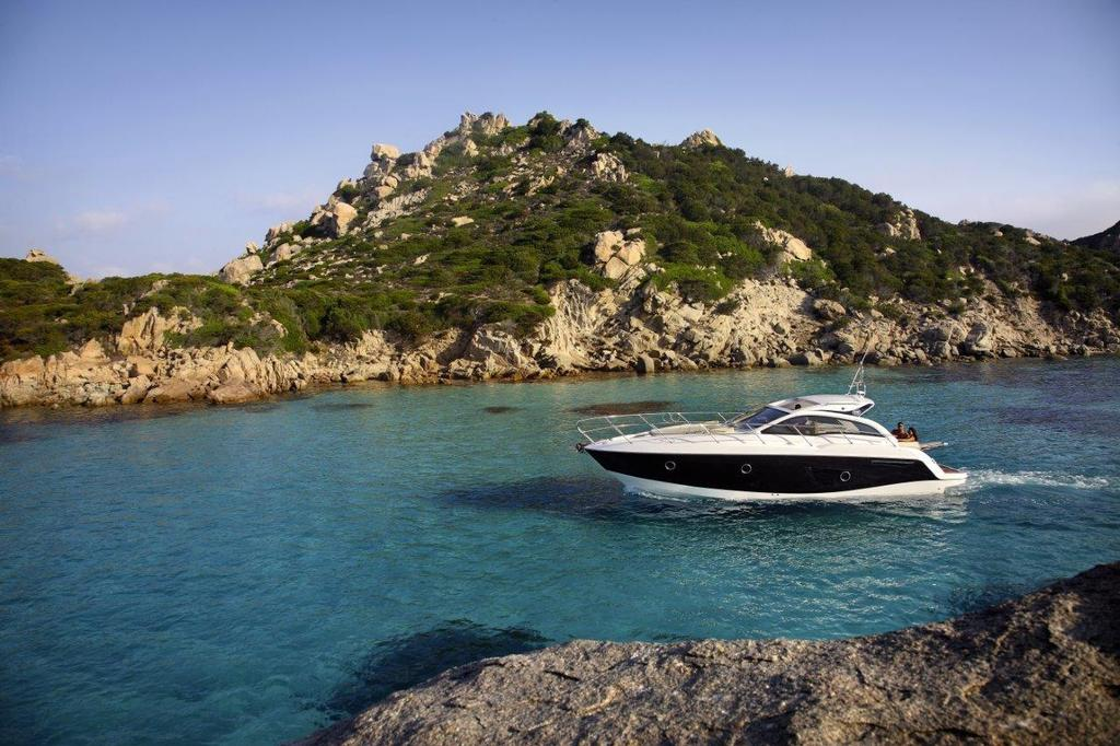 Way to go, cruising the Med, the Sessa C38 looks very much at home.  - Sydney, a power boater's paradise © Supplied .