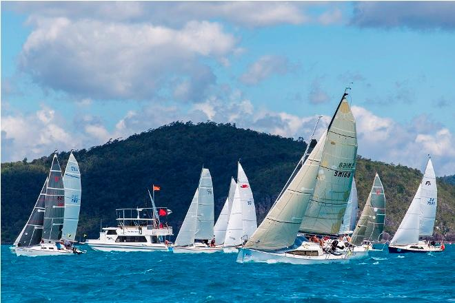Trailer Boats start - Airlie Beach Race Week © Andrea Francolini / ABRW